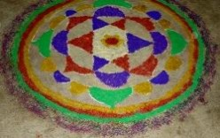 Rangoli - Indian Art of beautifying the floor