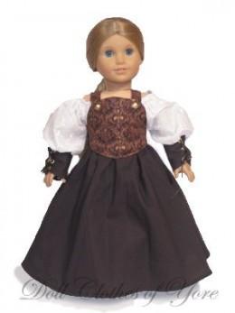 'Isabella' Doll Dress