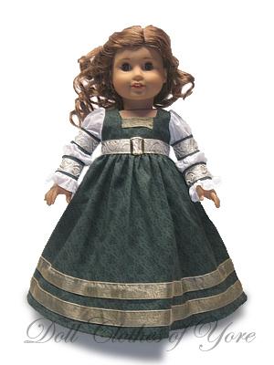 'Catarina von Bora' Doll Dress