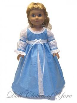 'Danielle's Wedding' Doll Dress