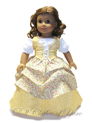 'Off to the Faire' Doll Dress