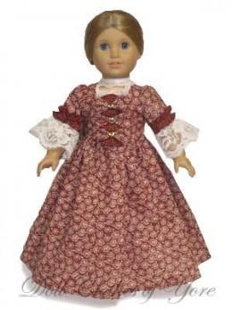 'Mt. Vernon' Doll Dress