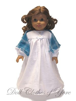 Blue Nightgown Outfit