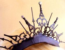 gothic tiara