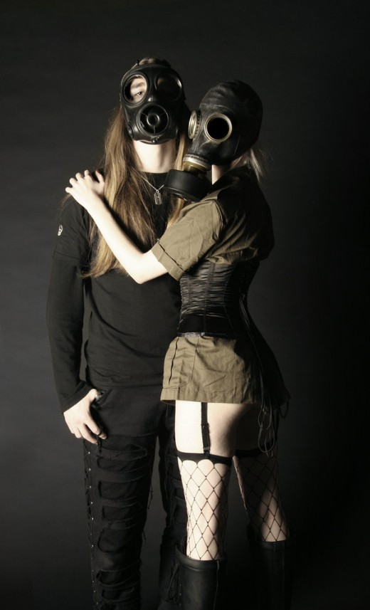 gothic military fashion