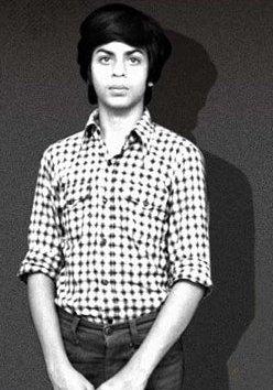 Shah Rukh Khan in his teens
