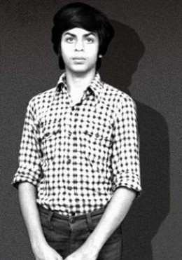 Shah Rukh Khan in his teens