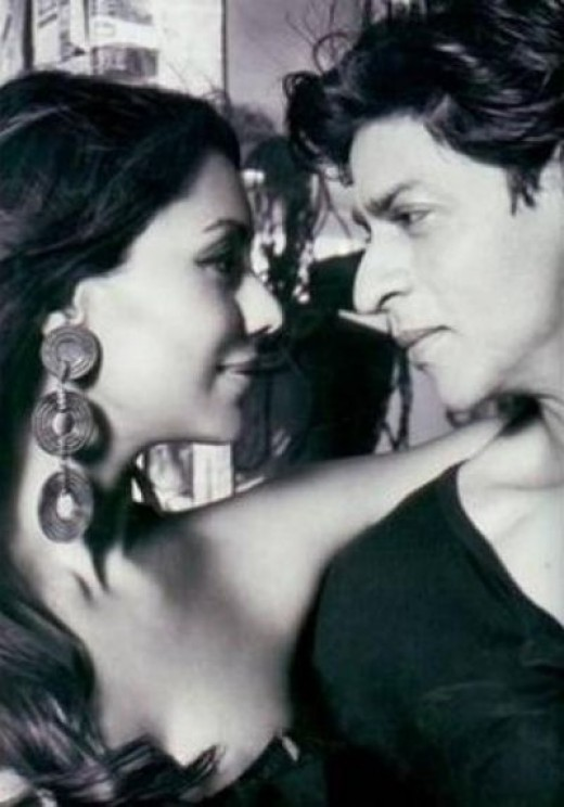 This Is Now----ShahRukh With Wife Gauri