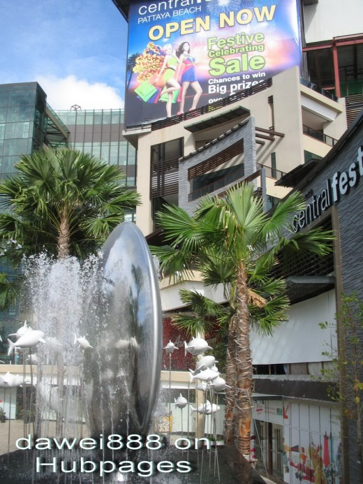 Pattaya Shopping Places