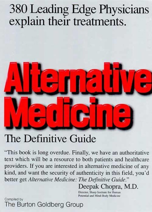 Alternative Medicine: The Definitive Guide featuring Dr. Swartwout's cutting edge work healing the eyes and vision.