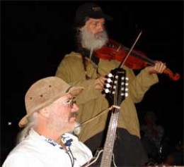 Acoustic music jam (Kanikapila) at The Shire.