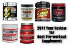 Top pre workout supplements for strength and stamina