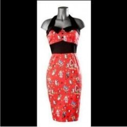 50s Style Wiggle Dresses