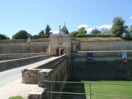 The citadel at Blaye