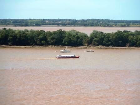 Ferry across the Gironde