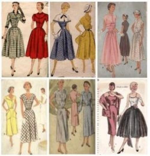 1950s Dressmaking Patterns