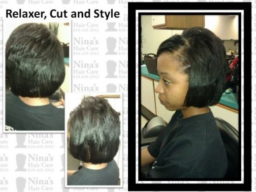 Relaxer, Cut, Style