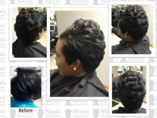 Short haircut Nina'sHairCare8104492943