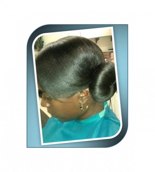 Bun Hairstyle by Nina