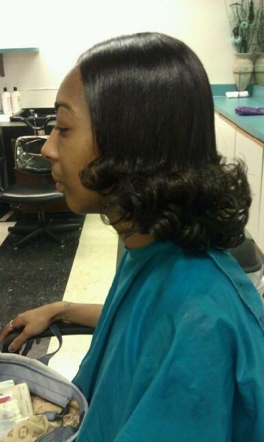 pjress and curl side View