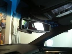 Mirror Dash Cam Installed