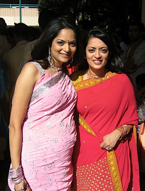 two beauties from india in sarees