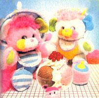 Left to right: Bibsy & Cribsy