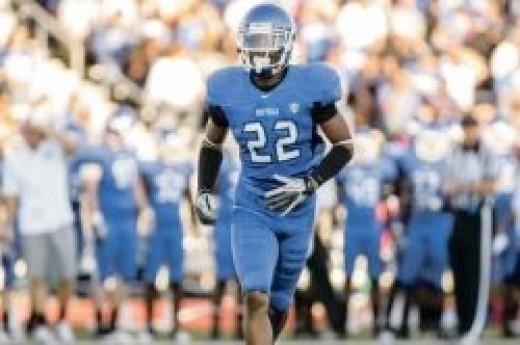 Najja Johnson (cornerback: University of Buffalo)