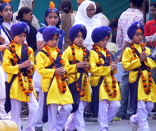The Procession on Gurpurab