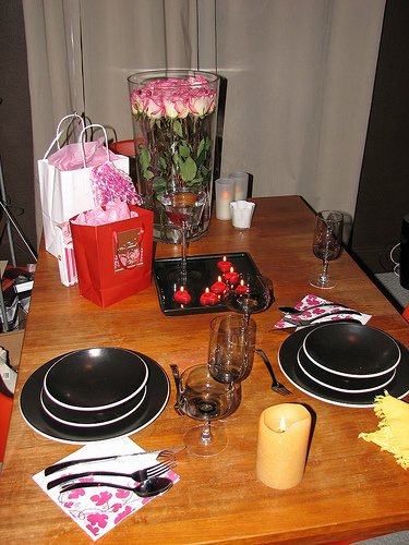 Valentine's Day is a personal celebration for couples