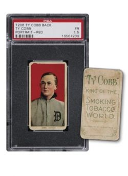 T206 Ty Cobb with Cobb back