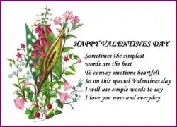 Vintage Flower Valentine Love Poster at Zazzle.com/injete