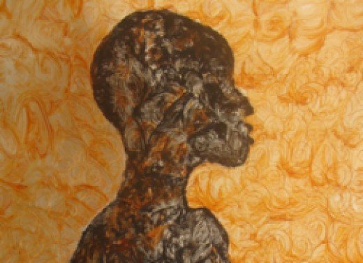 Sunset Dreams: African Art, Metal Painting by Maureen Injete Chesoni