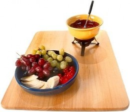 Lovely Fresh Fruit Salad With Dipping Chocolate