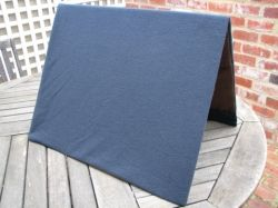 Flannel board helps anchor fabric