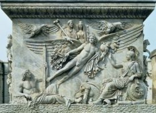Source: Apotheosis of Antoninus Pius And Faustina  Pedestal of Column of Antoninus Pius, 161 CE Rome, Italy