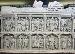 Source: Junius Bassus Sarcophagus, 359 CE Vatican, Grottoes of St. Peter