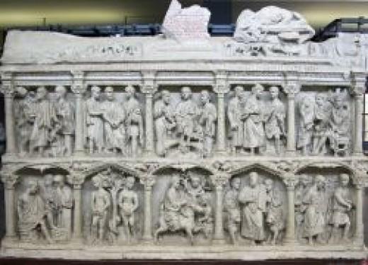Source: Junius Bassus Sarcophagus, 359 CE Vatican, Grottoes of St. Peter