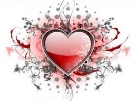 love songs, heart, lists