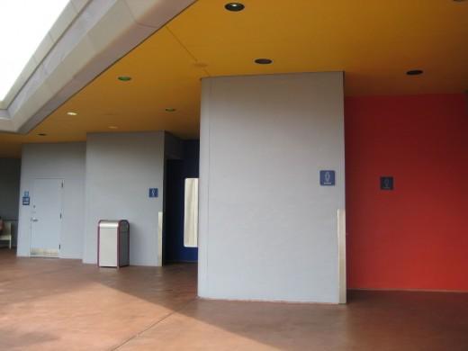 Disney World Restroom
