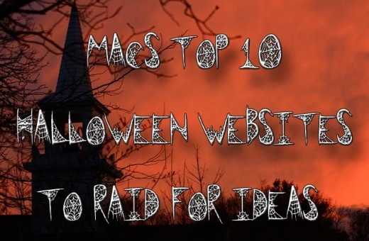 top 10 Halloween websites