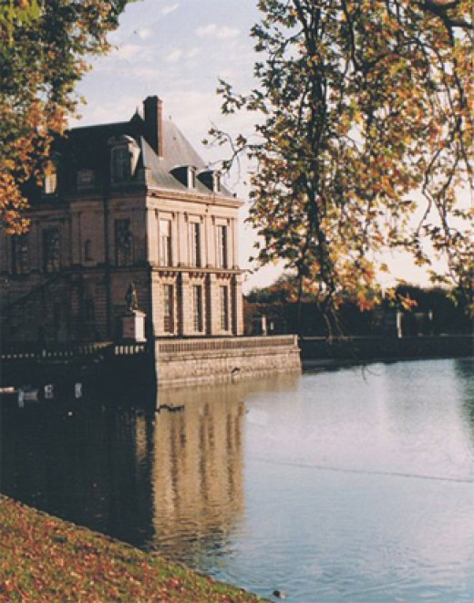 Carp Pond at Fontainebleau