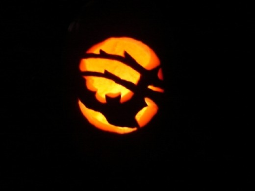 My brother's Jack-o'-lantern from a few years back!