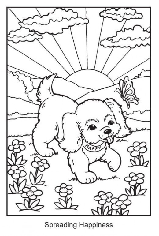 Cocker spaniel coloring pages pictures to pin on pinterest for English springer spaniel coloring pages