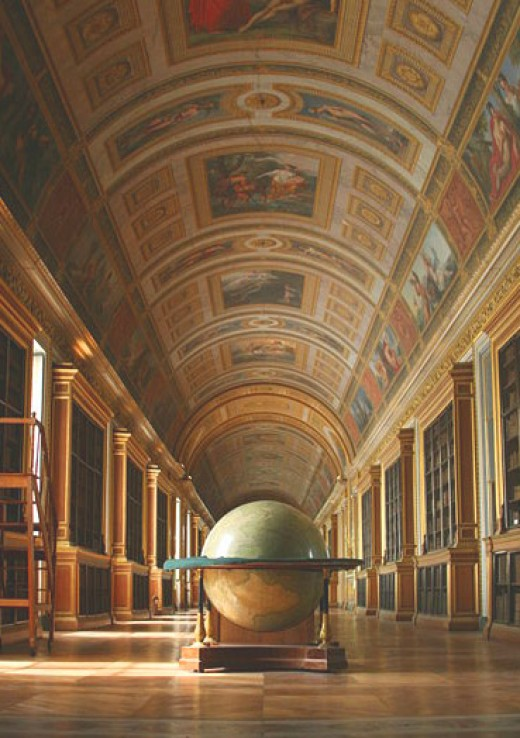 Library at Fontainebleau