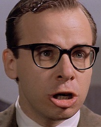 Rick Moranis - Famous geek who plays geeks all the time!!
