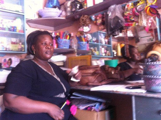 Many women work hard everyday in Africa to make sure that their families don't lack