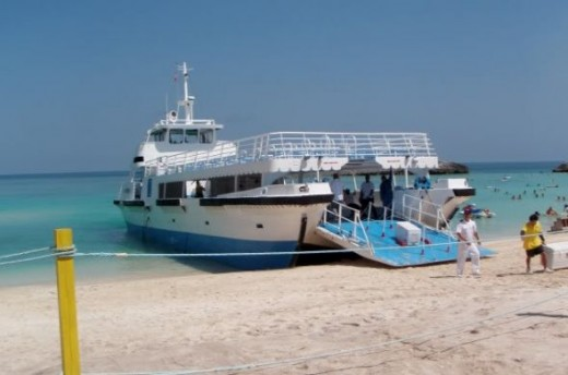 Great Stirrup Cay Tenders