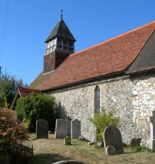 Church at Stodmarsh, Kent