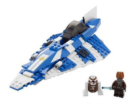 LEGO Star Wars Plo Koon's Jedi Starfighter 8093